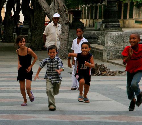 Cuba.Marabana 2012.kids