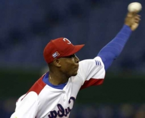 Pitcher Danny Betancourt excelled against Chinese Taipei