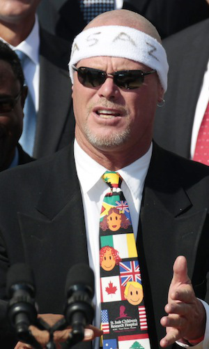 Super Bowl champion Jim McMahon (Chicago Bears) has been one of the major names and faces at the front of the concussion-related lawsuits against the NFL | Pablo Martinez Monsivais/File/AP Photo