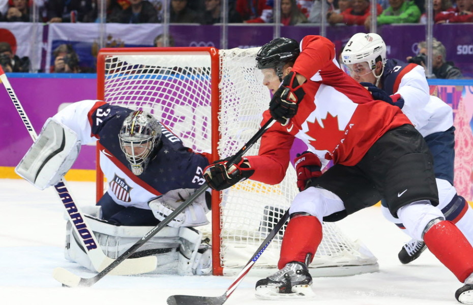 The NHL can only drool over the figures. The Canada-U.S. men's hockey semifinal drew a television audience of more than 15 million for CBC on Friday. Photo: Corey Perry of Canada tries a wraparound on Jonathan Quick of the USA as he is defended by Cam Fowler during first period action in the men's hockey semifinal at the Sochi 2014 Winter Olympic Games, February 21, 2014   Jean Levac/Postmedia News