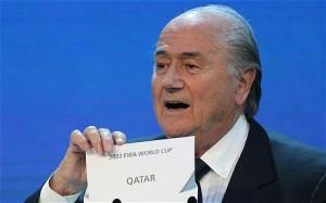 Blatter announces Qatar