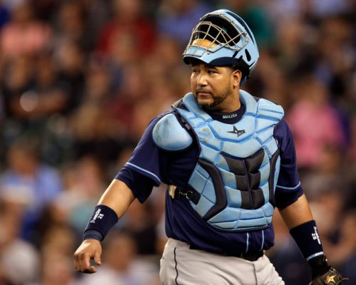 Rays catcher Jose Molina is considered the gold standard for framing pitches, which can help bring several extra wins | Ted S. Warren/Associated Press