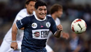 "Argentine soccer icon Diego Armando Maradona is reportedly in negotiations to coach the Palestinian soccer team ahead of the AFC Asian Cup tournament in Australia in 2015. Maradona has expressed  support for the Palestinians in the past. When he was still coaching in UAE, he told reporters ""I am the number one fan of the Palestinian people. I respect them and sympathize with them,"" according to Ynet. He even promised the Palestinian football team to visit Palestine, and said, ""I support this nation's cause, since I grew up on struggle and standing against injustice."" (Maradona (C) plays the ball during the inter-religious 'match for peace' soccer game in Rome's Olympic Stadium, September 1, 2014 