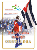 2015.Cuba Pan Am Toronto
