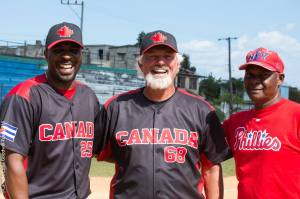 Canada Cuba Goodwill Tour.Dyvon White.Bill lee.?