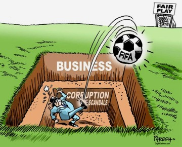FIFA-business-corruption cartoon
