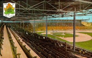 Both Havana and Toronto have strong baseball tradition dating back to the 1800s. This postcard how Maple Leaf Stadium, circa 1908.