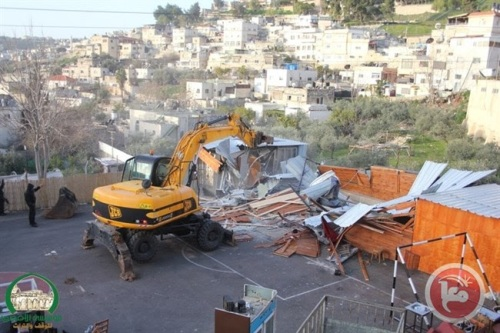 2015.08.East Jerusalem football field demolition