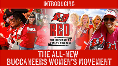 NFL.Tampa By Buccaneers Women's movement