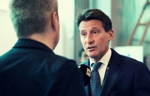 Will newly elected athletics president Seb Coe (photo) get the IAAF back on its feet? | Andy Miah/Flickr
