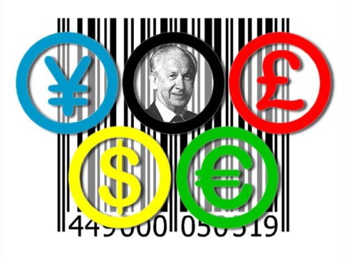 Olympic rings, money.Samaranch