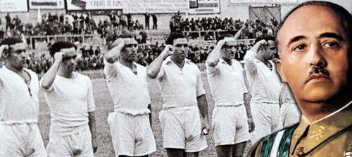 Before the Civil War, Real Madrid sympathized with the left, with the anti-fascist forces. To break with previous symbolism and from the monarchy, it removed the crown of the shield and put a purple diagonal stripe in honour of the tricolor. On 14 April 1931, it changed its name and became known as Madrid Football Club. With the advent of the Franco dictatorship to Spain in 1939, the crown was restored in the shield and the name of Real on the computer but a small detail was forgotten. The purple diagonal stripe crossing the shield was not suppressed and continued until today. In 2011, to celebrate 75 years of resistance in Madrid to Franco, a group of fans aimed to create the first Republican rock called 'The purple band' on 7 November.