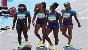 American womens' 4X100m