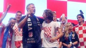 Thompson, Modric celebrate